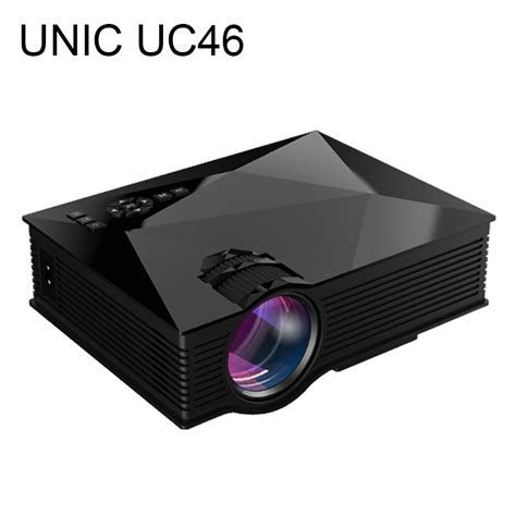 Unic Uc46 Mini Portable Projektor Hd 1080p With Wifi Connection ᑎ 2016 new unic ᗗ uc46 uc46 lcd mini pico projector hd ᗖ 1080p 1080p home theater