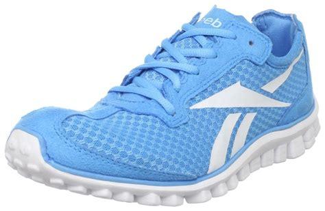 reebok womens running shoes reebok womens realflex running shoe in blue blue blink