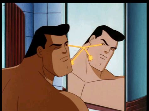 dc how does superman shave science fiction amp fantasy