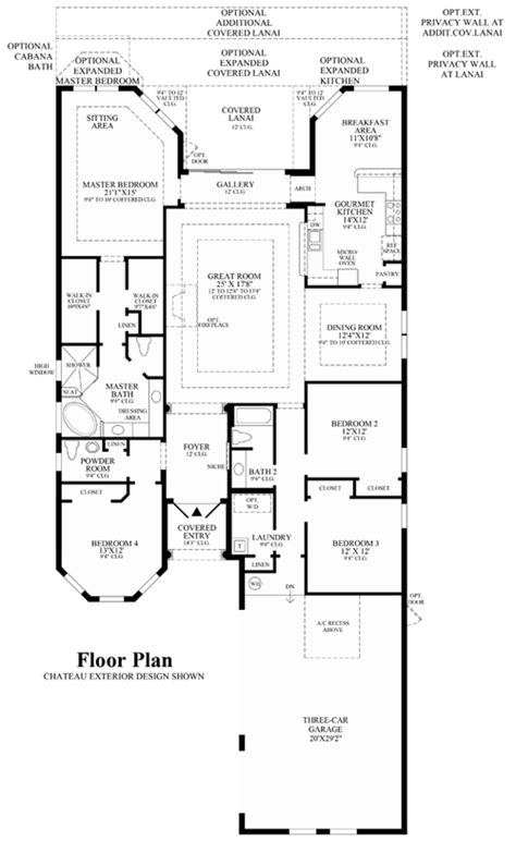 country floor plans wci parkland golf and country club floor plans
