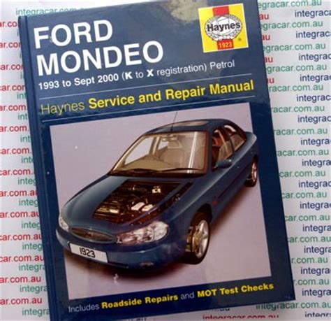 haynes repair manual ford mondeo mk2 ford mondeo repair manual haynes 1993 2000 new workshop car manuals repair books information
