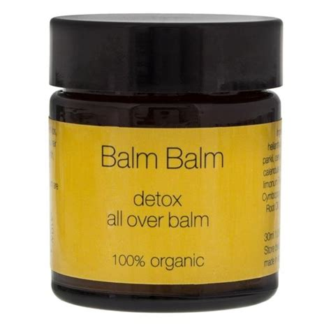 What Is Detox Balm by Buy Balm Balm Detox All Balm Now At Nu3
