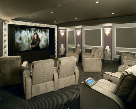 custom home theater rooms systems seating interiors