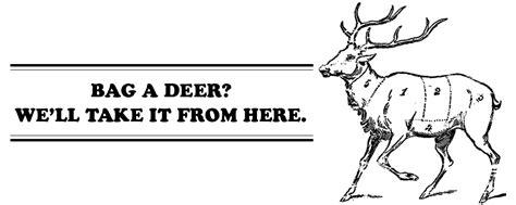 butchering a deer diagram deer processing