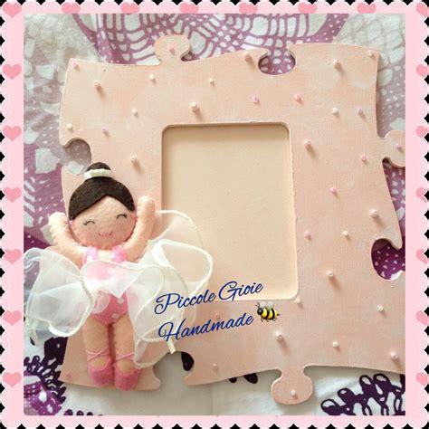 cornici puzzle cornice foto puzzle mdf e pannolenci quot ballerina quot bambini