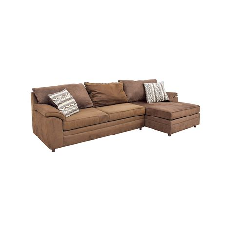 bobs furniture sectional sofas 46 bob s furniture bob s furniture brown chaise
