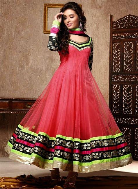 India Dressanarkali Dressdress indian anarkali suits with shimmer borders anarkali dresses summer collection 2014 2015