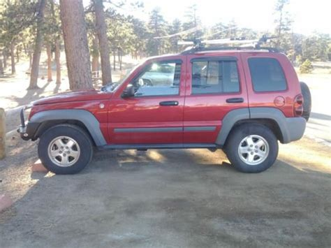 Jeep Liberty 2000 Sell Used Jeep Liberty Crd In Kirk Colorado United