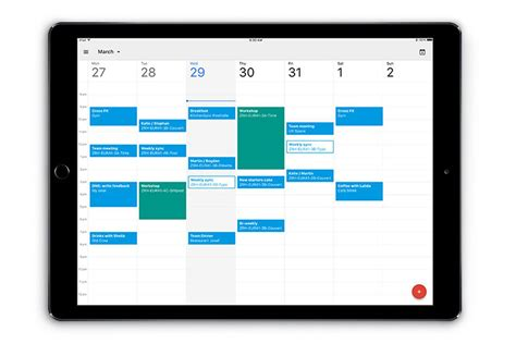Schedule App Calendar Finally Has A Proper App The Verge