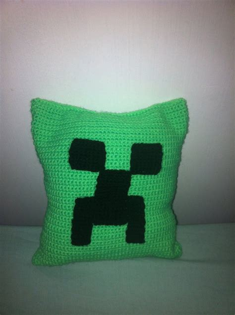 Minecraft Pillow Pattern by Minecraft Creeper Pillow By Ryry91 On Deviantart
