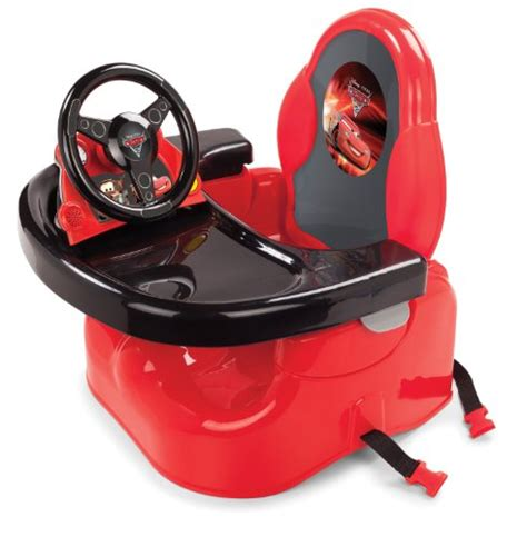 summer infant disney cars booster seat with steering wheel