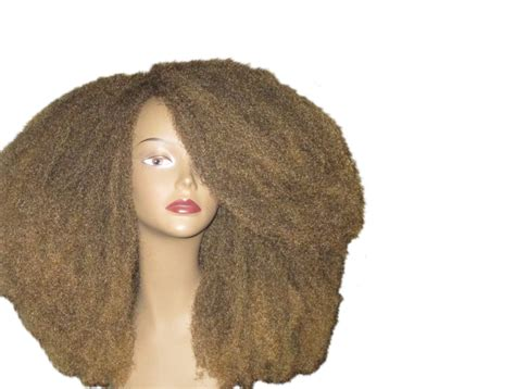 Hair By Type 4 Wigs by Essence Wigs Nubian Cap Afro Wig Brown