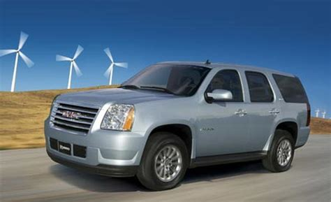 gmc yukon hybrid 2008 car and driver