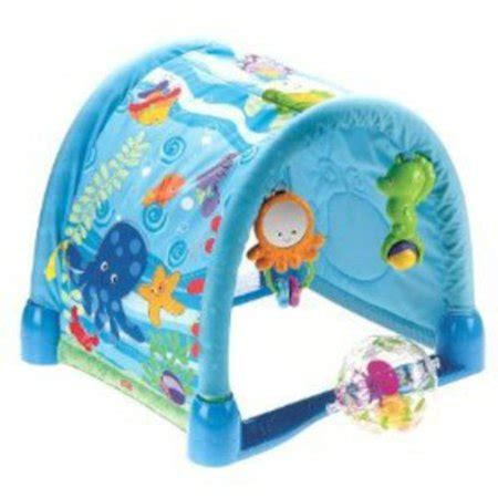 Acquario Fisher Price by Fisher Price Wonders Kick Crawl Aquarium
