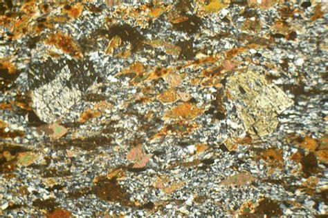 staurolite thin section biotite andalusite staurolite schist thin section