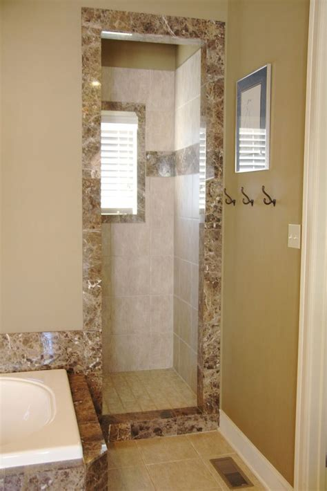 Doorless Shower Designs For Small Bathrooms Doorless Shower Dimensions Studio Design Gallery Best Design