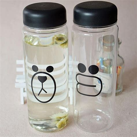 Bottle Minum Karakter Bottle Big Botol Beruang 500ml 500ml fashion fruit water bottle sports water bottle sale plastic lemon juice readily cup in