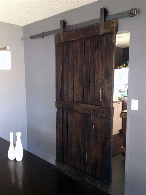 Barn Style Interior Doors Pictures To Pin On Pinterest Barn Door Style Interior Doors
