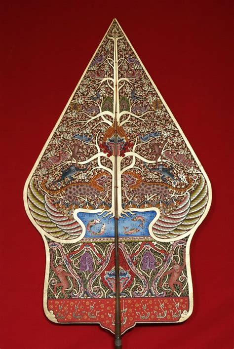 gunungan symbolize  world   earth  traditional