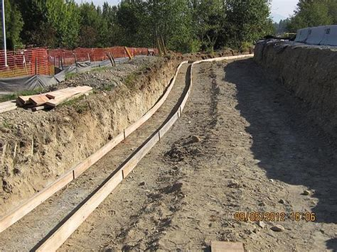 Retaining Wall Foundation Flickr Photo Sharing Garden Wall Foundations