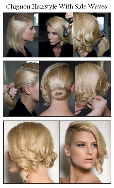 step by step short hair updos easy step by step hairstyle ideas for short hairs
