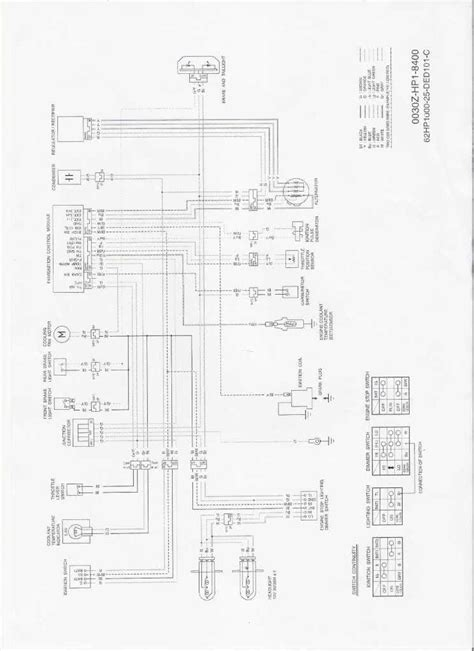 honda 300ex 4 wheeler wiring diagram honda free engine