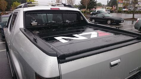 honda ridgeline bed cover peragon retractable truck bed covers for honda ridgeline