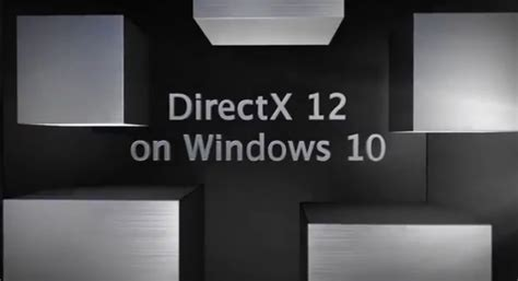 Windows 10 Directx Tutorial   microsoft ci mostra le potenzialit 224 delle nuove directx 12