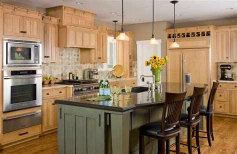 Kitchen Cabinet Appliance Garage by Maple Kitchen Cabinets Kitchen Traditional With Board And