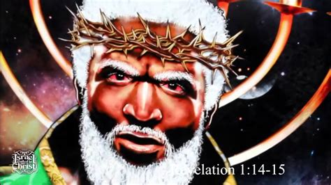 black god the israelites god and jesus is black and the pope