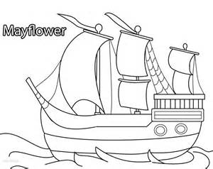 mayflower coloring page printable pilgrims coloring pages for cool2bkids