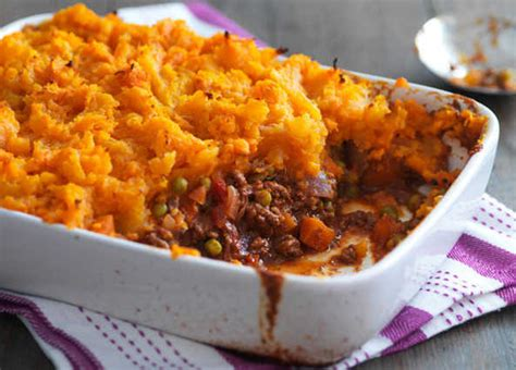 Cottage Pie With Sweet Potato recipe spiced cottage pie with sweet potato topping sainsbury s