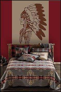 native bedroom design american indian wall decal mural native american theme