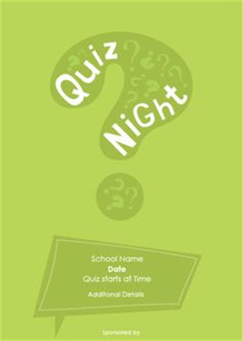 themes for quiz competition school quiz night poster quiz poster ideas pinterest