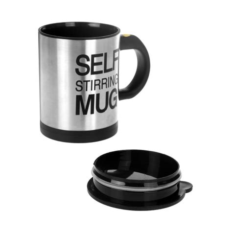 Automatic Self Stirring Coffee Cup Gelas Otomatis automatic self stirring coffee cup gelas otomatis silver jakartanotebook