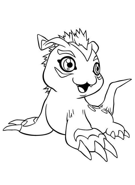 digimon coloring pages free coloring pages of digimon fusion