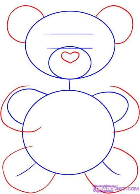 how to draw valentines day pictures step by step step 2 how to draw a valentines day