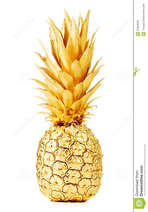 Wine Bottles With Lights Gold Pineapple Stock Images Image 31594034