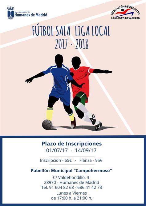 f 250 tbol sala ayuntamiento humanes de madrid - Liga De Futbol Sala Madrid