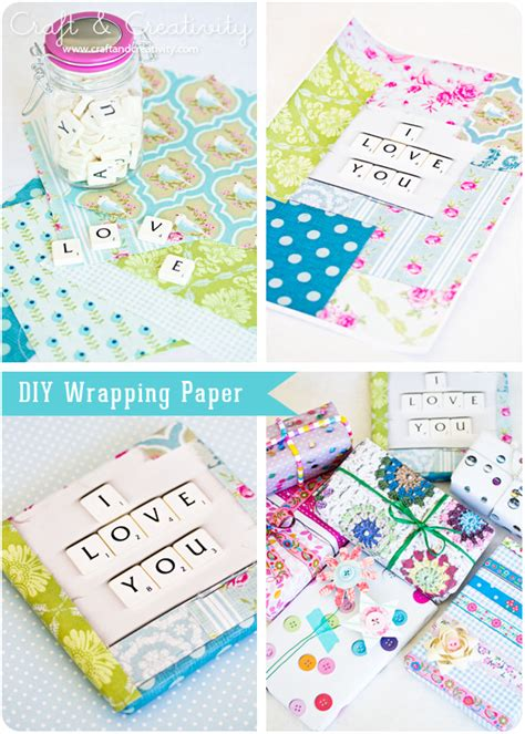 Wrapping Paper Craft - feddycake obsession