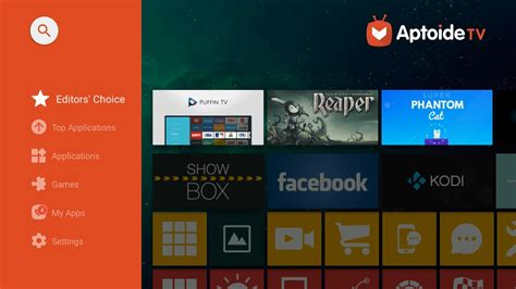 aptoide tv top 8 apps for android tv that must have allupdatehere