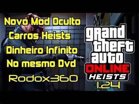 mod gta 5 xbox 360 1 27 gta v mod menu oculto carros heists dinheiro xbox 360