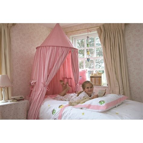 hanging bed canopy hanging play tent childrens kids bed canopy in candy pink gingham by win green ebay