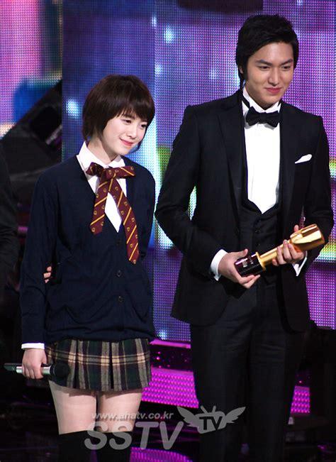 lee min ho and goo hye sun 2013 minsun la mejor pareja de los kbs drama awards