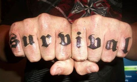 tattoo fonts knuckles true knuckle tattoos for sleeve