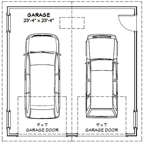 how to measure garage door size
