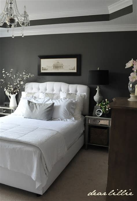 Gray And White Master Bedroom by Dear Lillie Master Bedroom Combination Black Gray And White Well It Looks Like