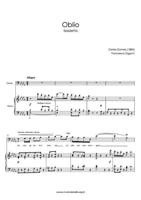 Carlos Gomes - Oblio | Musica Brasilis