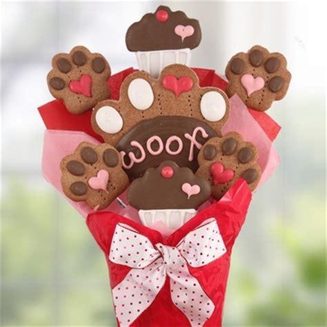 puppy bouquet loving paws biscuit bouquet