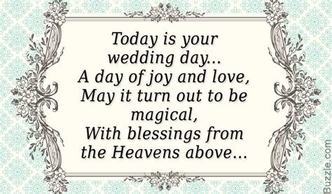 Wedding day Poems